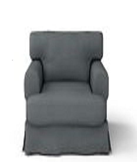 Amazon.com: IKEA Hovas Slipcover Cover Sillón hjulsbro Gris ...