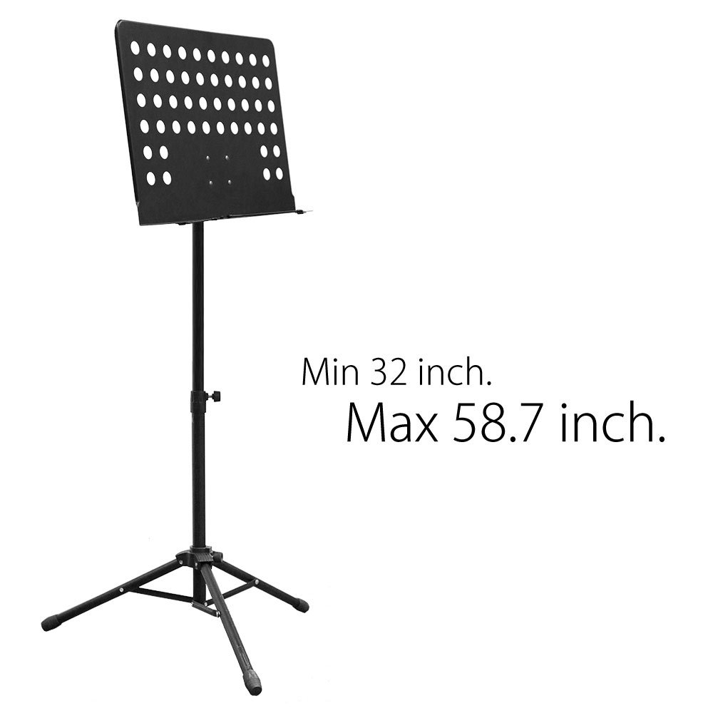 Maestro Extra Durable Metal Music Note Stand Orchestra Heavy Duty Tripod APL1281 by PARTYSAVING (Image #2)