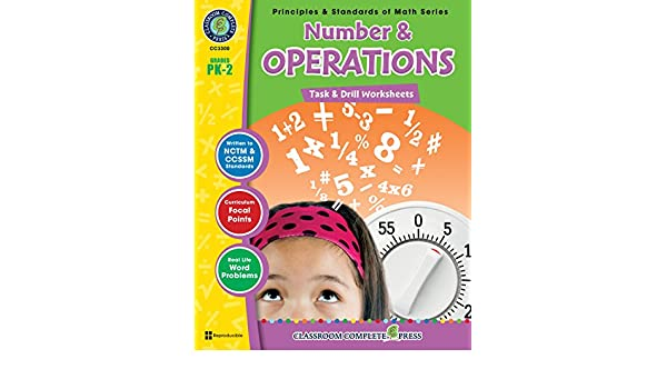 Number & Operations - Task & Drill Sheets Gr. PK-2, Nat Reed ...