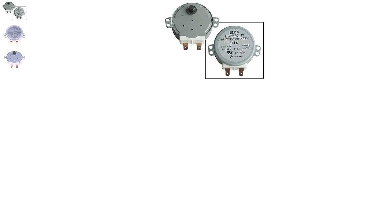 SHARP Motor rotativo de Placas 3W para microondas RMOTDA255WRZZZ ...