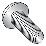 18-8 Stainless Steel Thread Rolling Screw for Metal, Passivated Finish, Pan Head, Star Drive, #4-40 Thread Size, 3/8'' Length (Pack of 50)