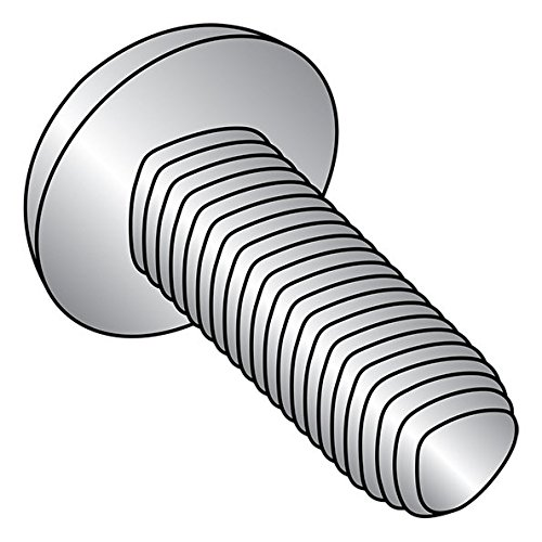 18-8 Stainless Steel Thread Rolling Screw for Metal, Passivated Finish, Pan Head, Star Drive, #4-40 Thread Size, 3/8'' Length (Pack of 50) by Small Parts