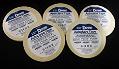 5 Rolls of Autoclave Tape 1/2