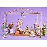 Patience Brewster Christmas Mini Nativity Set of 13 Figurine