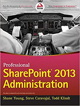 Book Professional Sharepoint 2013 Administration