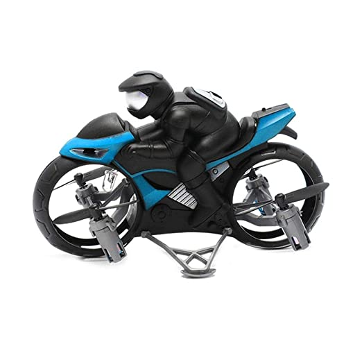 vogueyouth RC Moto Drone Toy - Altitude Hold Land Air Modo Dual ...