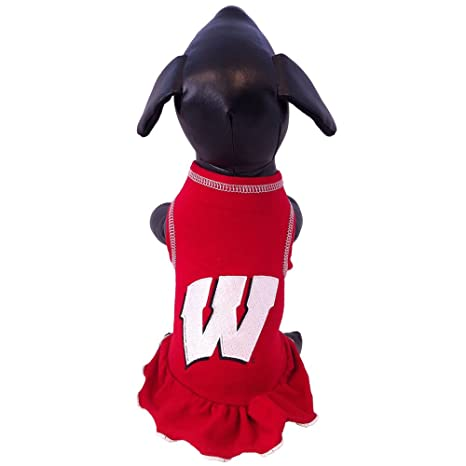 Small NCAA Texas TECH RED Raiders Dog Cheerleader Outfit