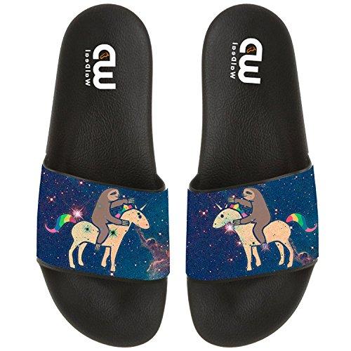 Sandal Unicorn Shoes Girl Slippers Indoor Men Boy with Adult Cartoon Slide Beach Women Sloth Outdoor For Summer BUCwC6q