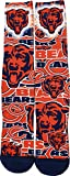 For Bare Feet Chicago Bears Montage Promo Socks