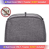 HOMEST Toaster Cover with Pockets, Can Hold Jam