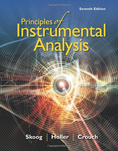 Principles of Instrumental Analysis cover