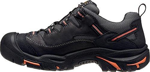 KEEN Utility Men's Braddock Low Steel-Toed Boot,Black/Bossa Nova,10.5 D US by KEEN Utility (Image #4)
