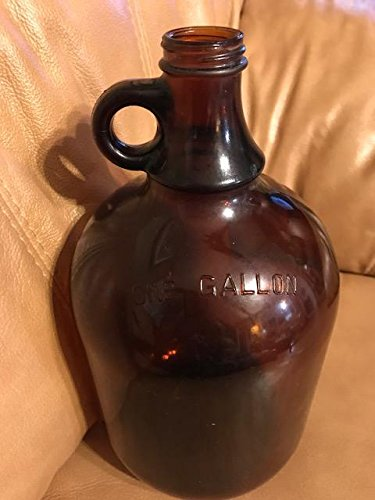 Brown Gallon Glass Jug