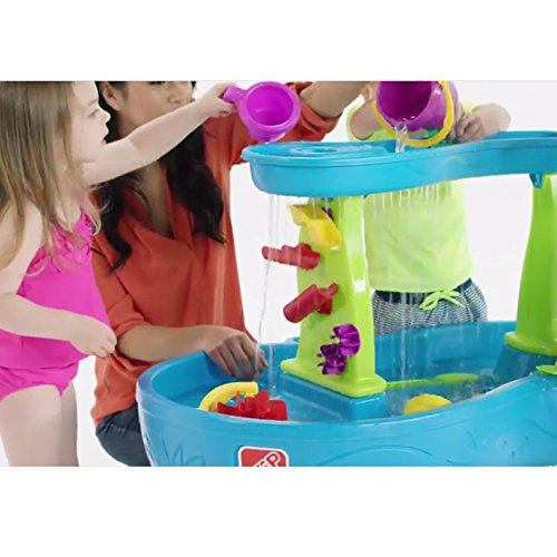 51yifi51eaL - Step2 874600 Rain Showers Splash Pond Water Table Playset, Small Pack, Multi-Colored
