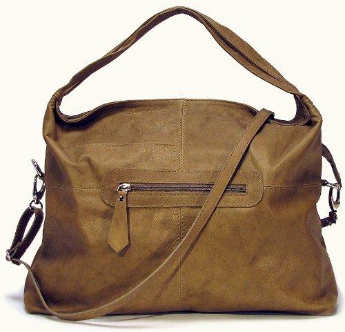 Floto Luggage Rimini Handbag, Beige, Medium, Bags Central