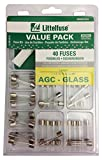 Littelfuse 00940557ZXA AGC Glass Super Value Pack, 40-Piece (Pack of 40)