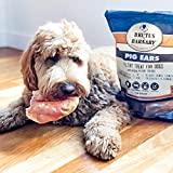 100% Natural Whole Pig Ear Dog Treat, Brutus