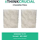 Crucial Air 2 Humidifier Wick Filter Fits Vornado MD1-0002; Fits All Vornado Evaporative Humidifiers; Compare to Part # MD1-0002, MD10002, MD1-0001, MD10001; Designed & Engineered by Crucial Air