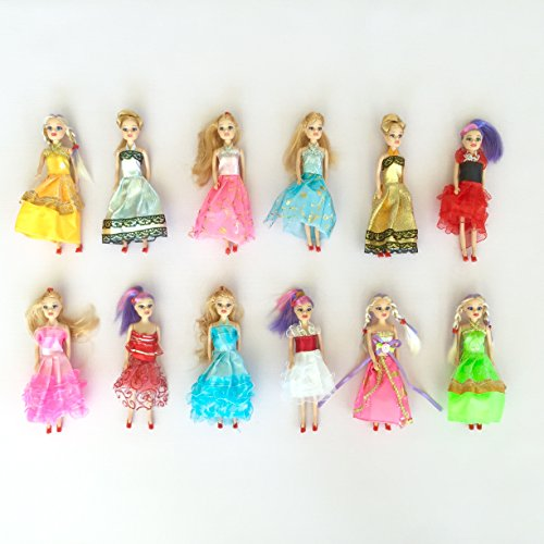 Barbie Doll Play-set for Barbie Princess Birthday Party Favor and Supplies 6