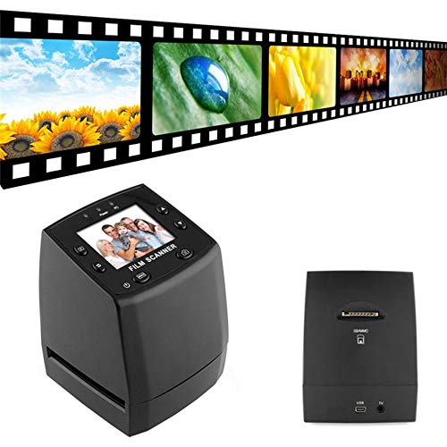 E.I.H. Digital Scanner 5 Mega Pixels 35mm Negative Film Slide Viewer Scanner USB Color Photo Copier Built-in 2.4-Inch Color LCD Screen