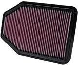 Automotive : K&N 33-2364 High Performance Replacement Air Filter for 2007-2016 Jeep Wrangler JK 3.6L V6
