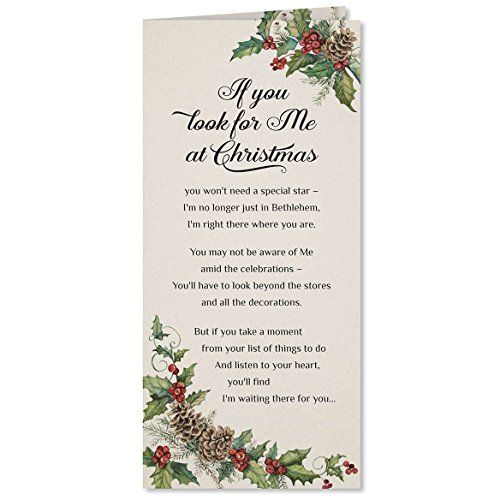 - Looking for Jesus Christmas Card Set of 20