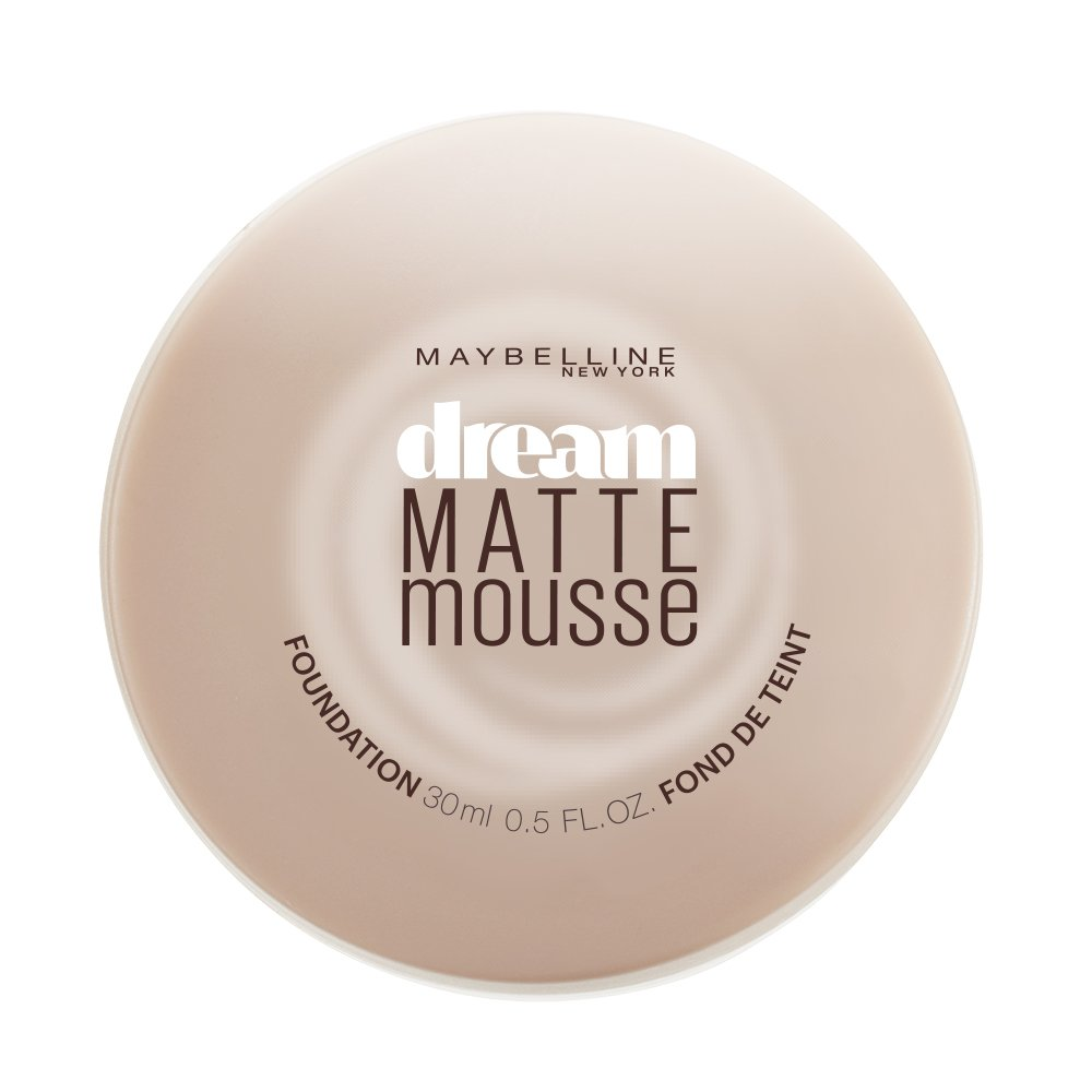 Maybelline New York Dream Matte Mousse Foundation, Classic Ivory, 0.64 Ounce 50710