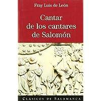 Cantar de los cantares de Salomón (Clásicos