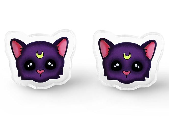 Amazon Luna Cat Stud Earrings