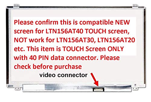 Ltn156at40 Replacement LAPTOP LCD Screen 15.6 WXGA HD LED DIODE (Substitute Only. Not a ) (TOUCH) for Dell Inspiron 15-5559