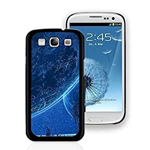 Planet In the Eye Pattern Hard Plastic Case Cover Protector Skin for Samsung Galaxy S3 - Black Edge