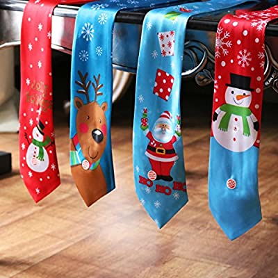 Musical Light Up Christmas Ties Mens Novelty Gift Secret Santa Xmas Tie NEW