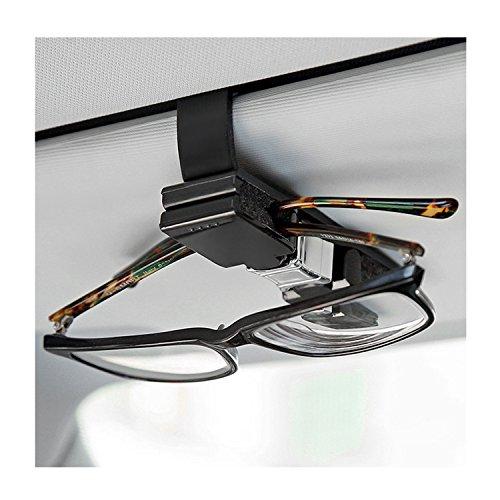 Fullsexy Car Glasses Holder for Car Sun Visor, 360