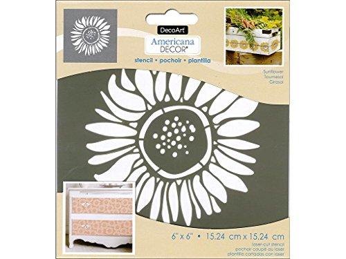 Decoart DECADS K 106 Americana Stencil Sunflower