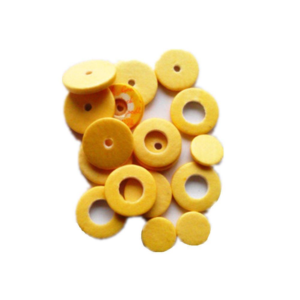 SDWL 17 Hole Open Hole Flute Pad Casings Mat Sound Hole Pad Parts Yellow PBYQ2901