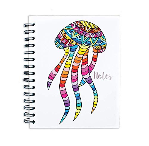MAWI DISEÑO-NOTEBOOK COLLAGE JELLYFISH from Lindo y Querido México