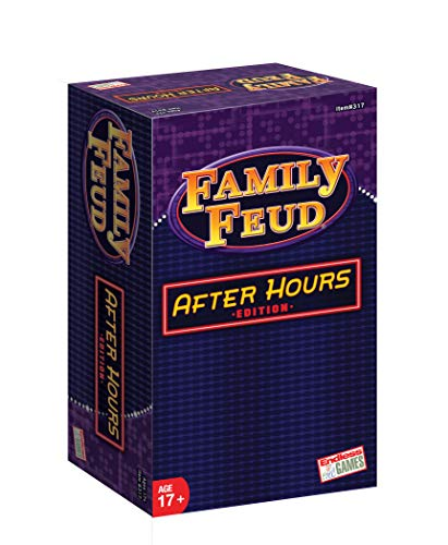 Family Feud After Hours 2018 Edition Game - Endless Games - Funny Surveys Says - Fun for Friends and Family Ages 17 and Older