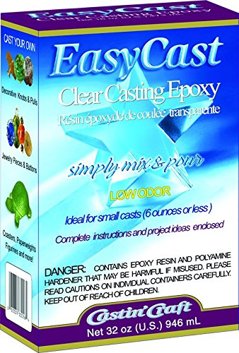 Environmental Technology 33032 32-Ounce Kit Casting Craft Casting Epoxy, Clear product image