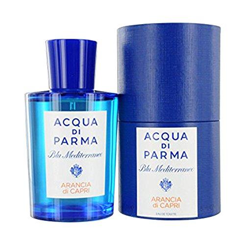 Acqua Di Parma Blue Mediterranean Arancia Di Capri Eau de Toilette Spray, For Men, 5 (Capri Orange Eau De Toilette)