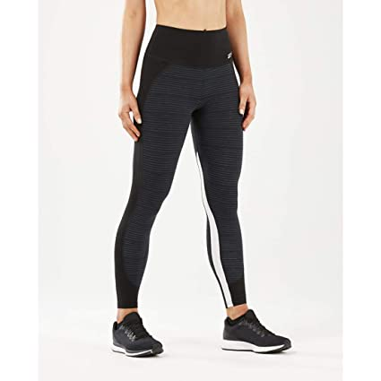 3ab25e8563fde8 Amazon.com : 2XU Fitness Hi Rise Womens Long Compression Tights ...