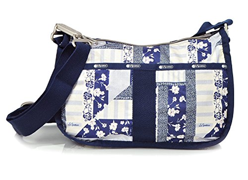 Blue Patchwork Hobo - Lesportsac Essential Hobo (Patchwork Blue)