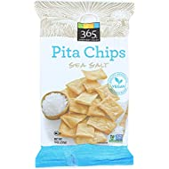 365 Everyday Value, Sea Salt Pita Chips, 9 oz