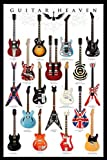 Guitar Heaven, Music Poster Print, 24 by 36-Inch