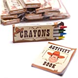 Fun Express Western Party Activity Sets - 12 Piece Pack