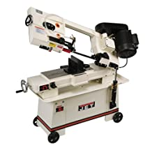 JET 414455 7-Inch by 12-Inch 3/4-Horsepower 220-Volt Horizontal Wet Bandsaw