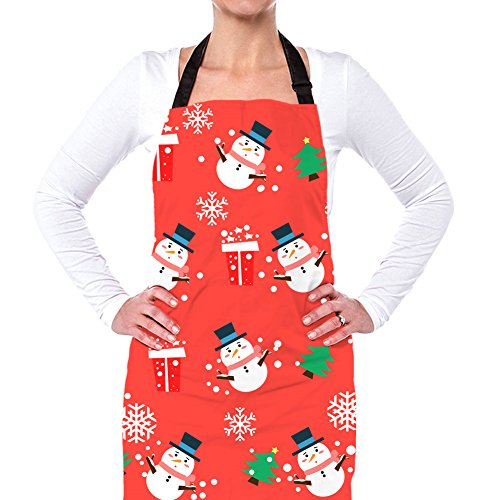 Coloranimal Christmas Aprons Womens Kitchen Cooking for sale  Delivered anywhere in Canada