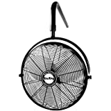 Air King 9520 20-Inch 1/6-Horsepower Industrial Grade I-Beam Mount Fan with 3,670-CFM, Black Finish