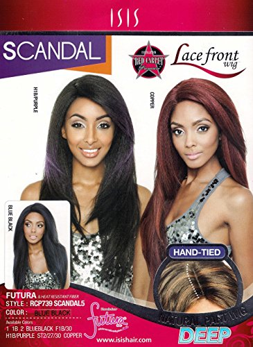 ISIS Red Carpet Lace Front Wig RCP739 Scandal 5 (Color ST2/27/30)