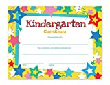 Kindergarten Certificates - 60-Pack Kindergarten Diplomas, Completion Certificate Paper Ideal for Teachers, Schools, Children, 8.5 x 11 Inches