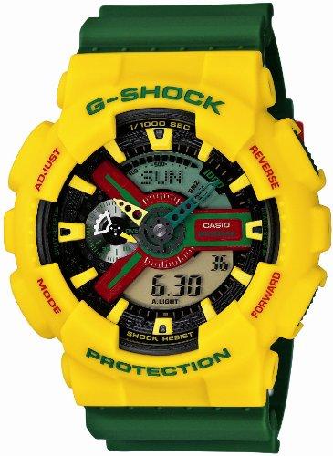 G-SHOCK Rastafarian. GA-110RF-9AJF. Men's watch.